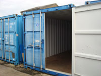 20ft Container external view