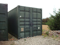 40ft Container external view