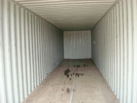 40ft Container internal view