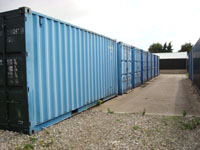 20ft Containers external